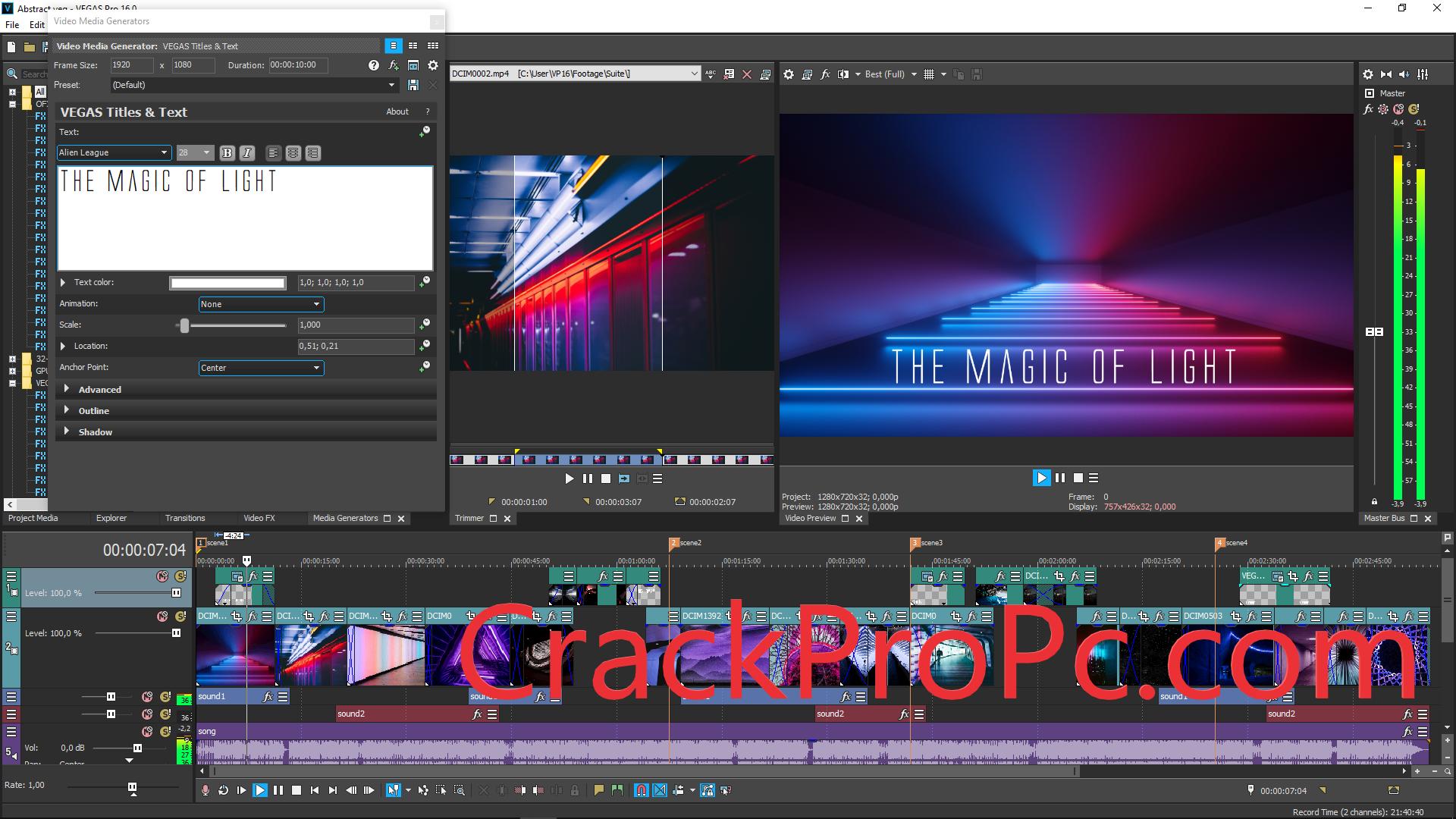 Sony Vegas Pro 20 Crack 2022 Serial Number Full Free Download