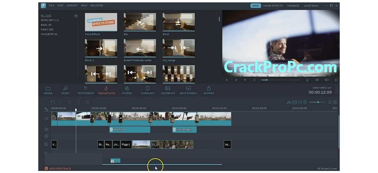 Wondershare Filmora X 10.1.20.16 Crack 2021 Registration Code Latest