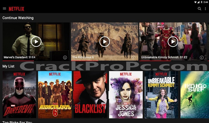 Netflix Crack 5.0.9 Full Version Free Download For Win/Mac/Android 2020