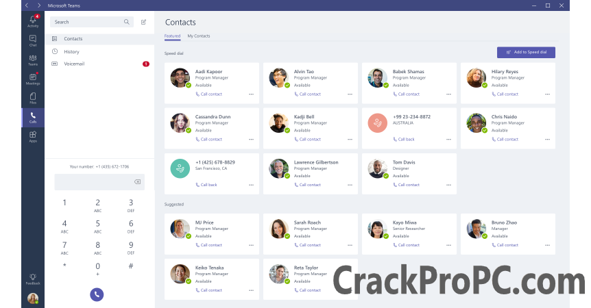 Microsoft Teams Crack + Activation Key Full Version Free Download 2020