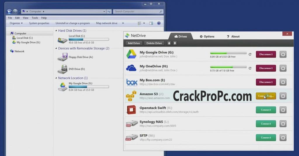 NetDrive 3.13 B305 Crack 2021 License Key Torrent Full Latest Download