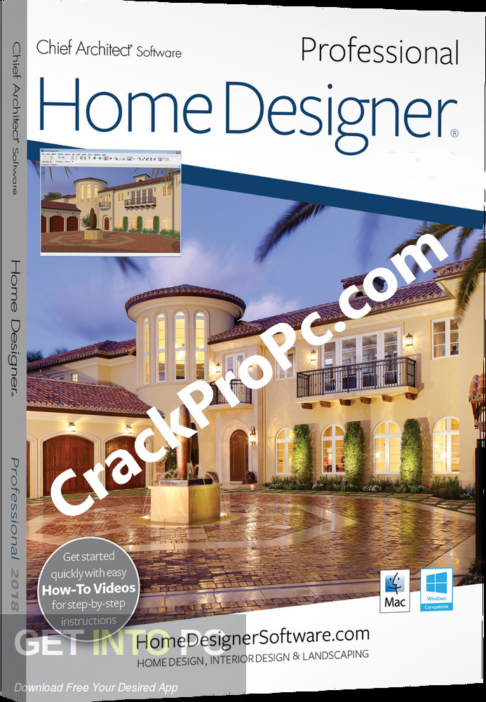 Home Designer Pro Crack 2021 22.3.0.55 Serial Key Latest Download