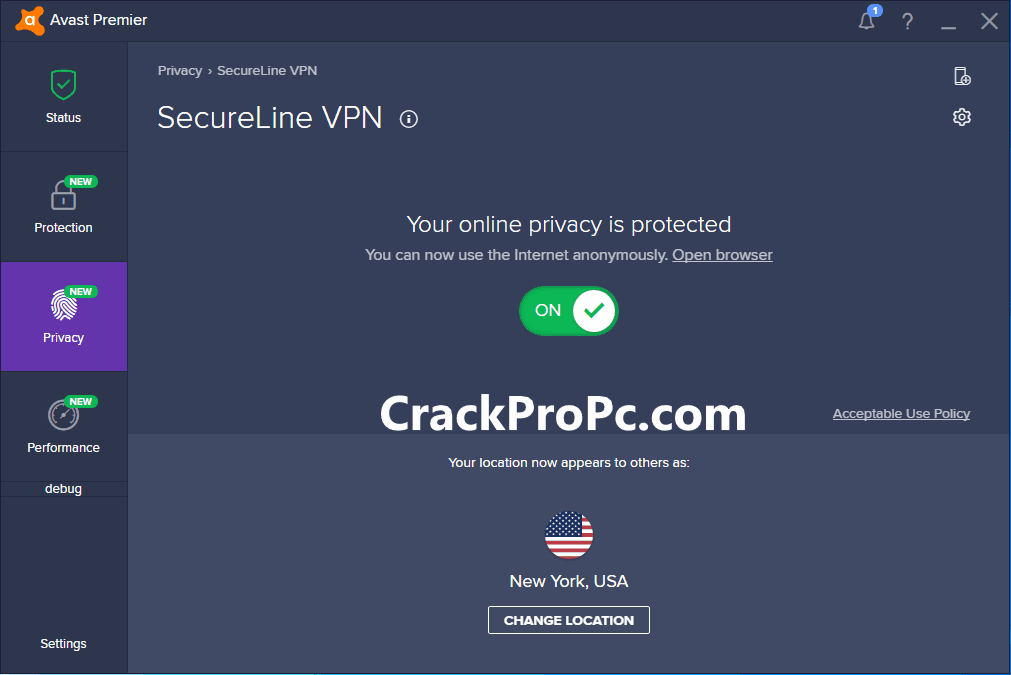 Avast SecureLine VPN V5.6.4 Crack License Key Latest Download 2021