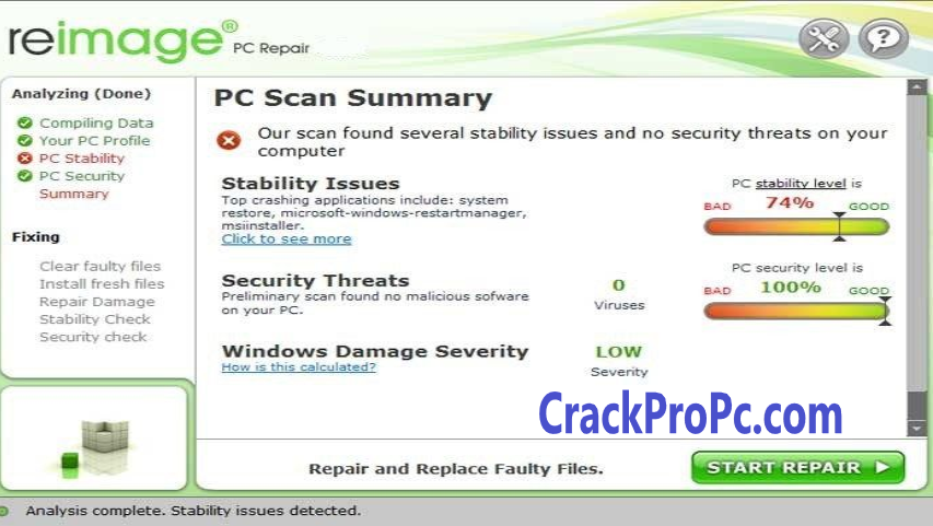 Reimage PC Repair 2020 Crack With Serial Key Full Version Free Download