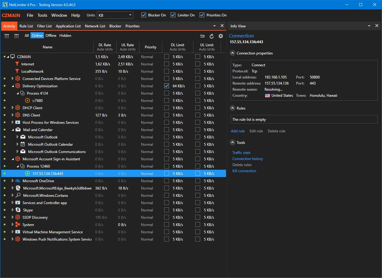 NetLimiter Pro 4.1.8 Crack Latest Version Registration Key Free Download