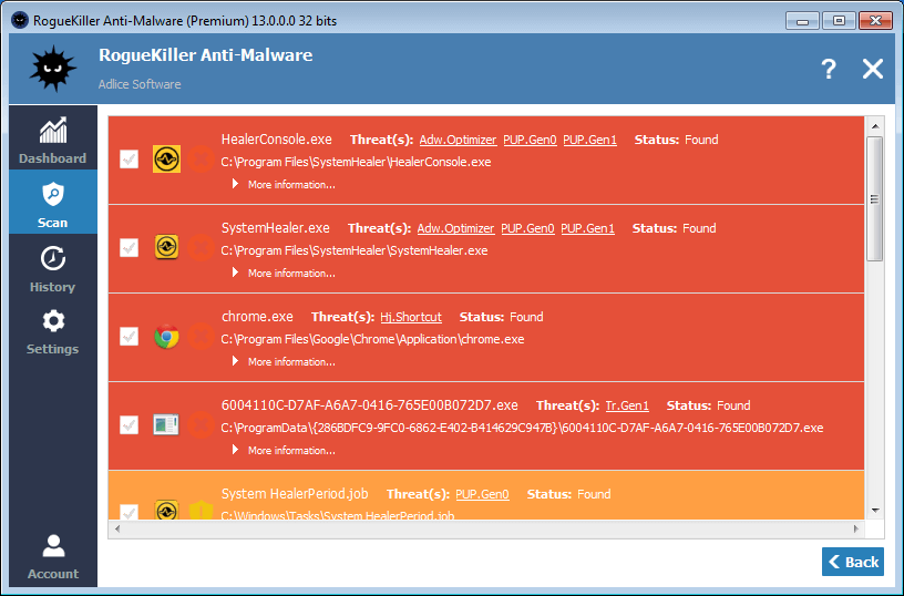 RogueKiller 14.8.0.0 Crack Keygen Premium Serial Key Latest Download
