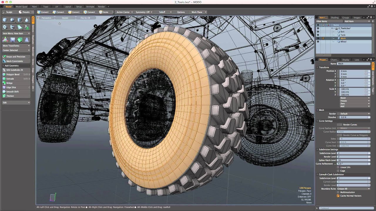 The Foundry MODO 14.2 V2 Crack Latest Version Free Download [2021]