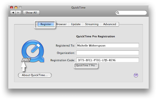 QuickTime Pro 7.7.9 Crack Registration / Serial Key Latest Download 2021