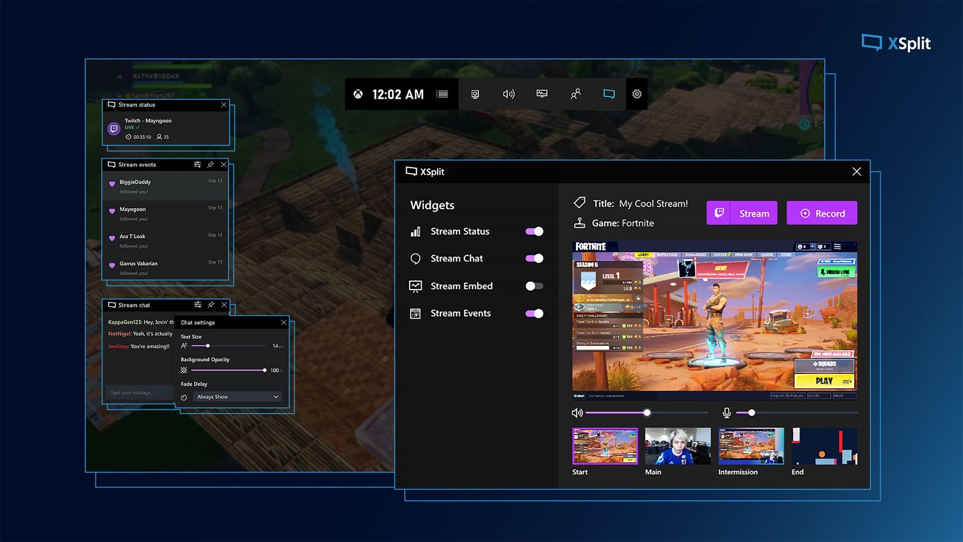 XSplit Broadcaster 4.1 Crack Serial Key Full Version Free Download
