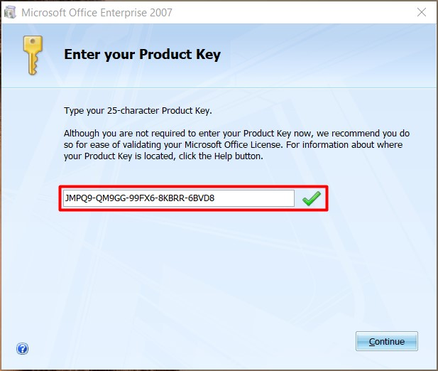 Microsoft Office 2007 Crack Product Key Free Download (100% Working)